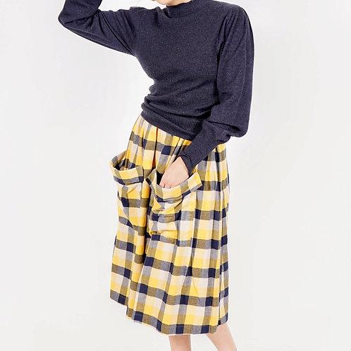 50's inspired flannel skirt by Saint Geraldine