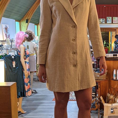 Reputation textured blazer dress