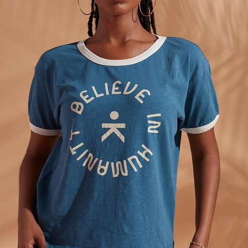 Believe in humanity tee by Known Supply