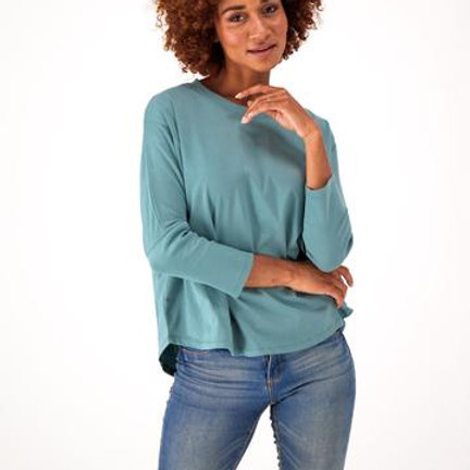 Relaxed for batwing tee