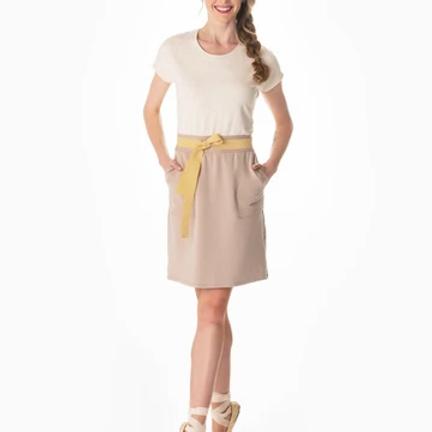 Split Tee dress