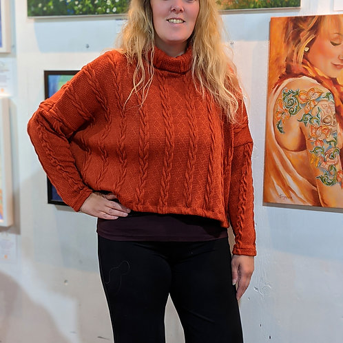 Helen chunky knit sweater