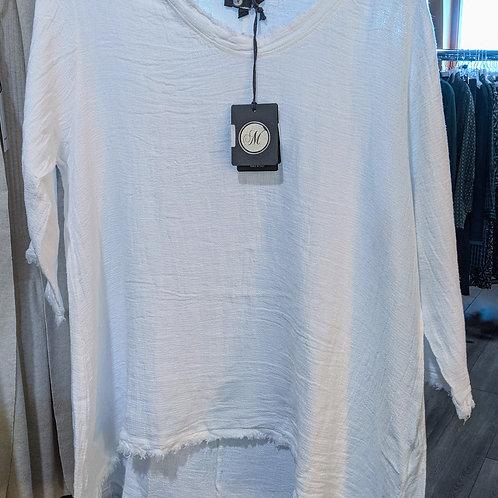 Linen Tunic in white