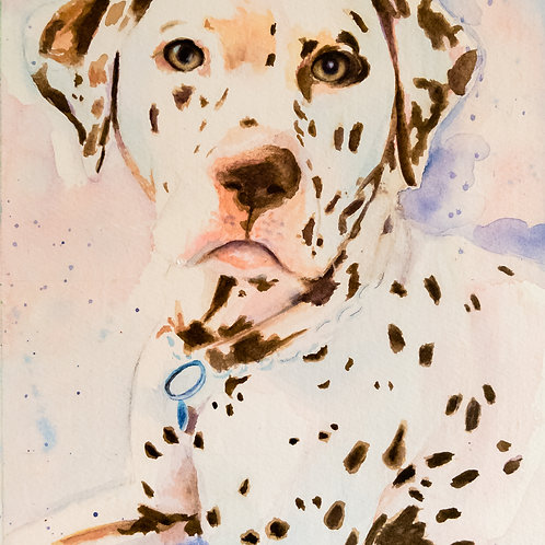 Watercolour Painting of your Pet