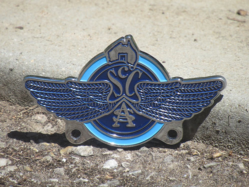 SCCSA Car Badge