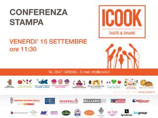 Conferenza Stampa ICook Taste&Share 15 Settembre 2017 - PROMOSSO DA COOK ACADEMY E ISCOM FORMAZI