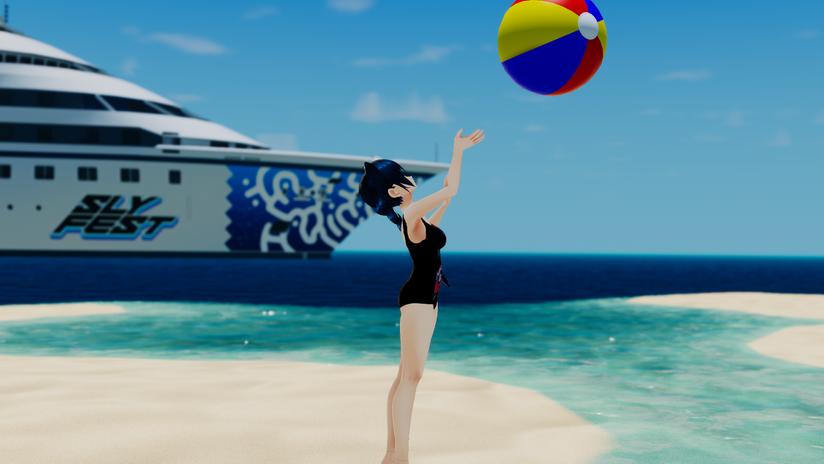 Kisame Beach Fun