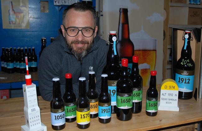 Alexandre de Zordi : à la Brasserie du Ventoux, une bière artisanale bio et locale