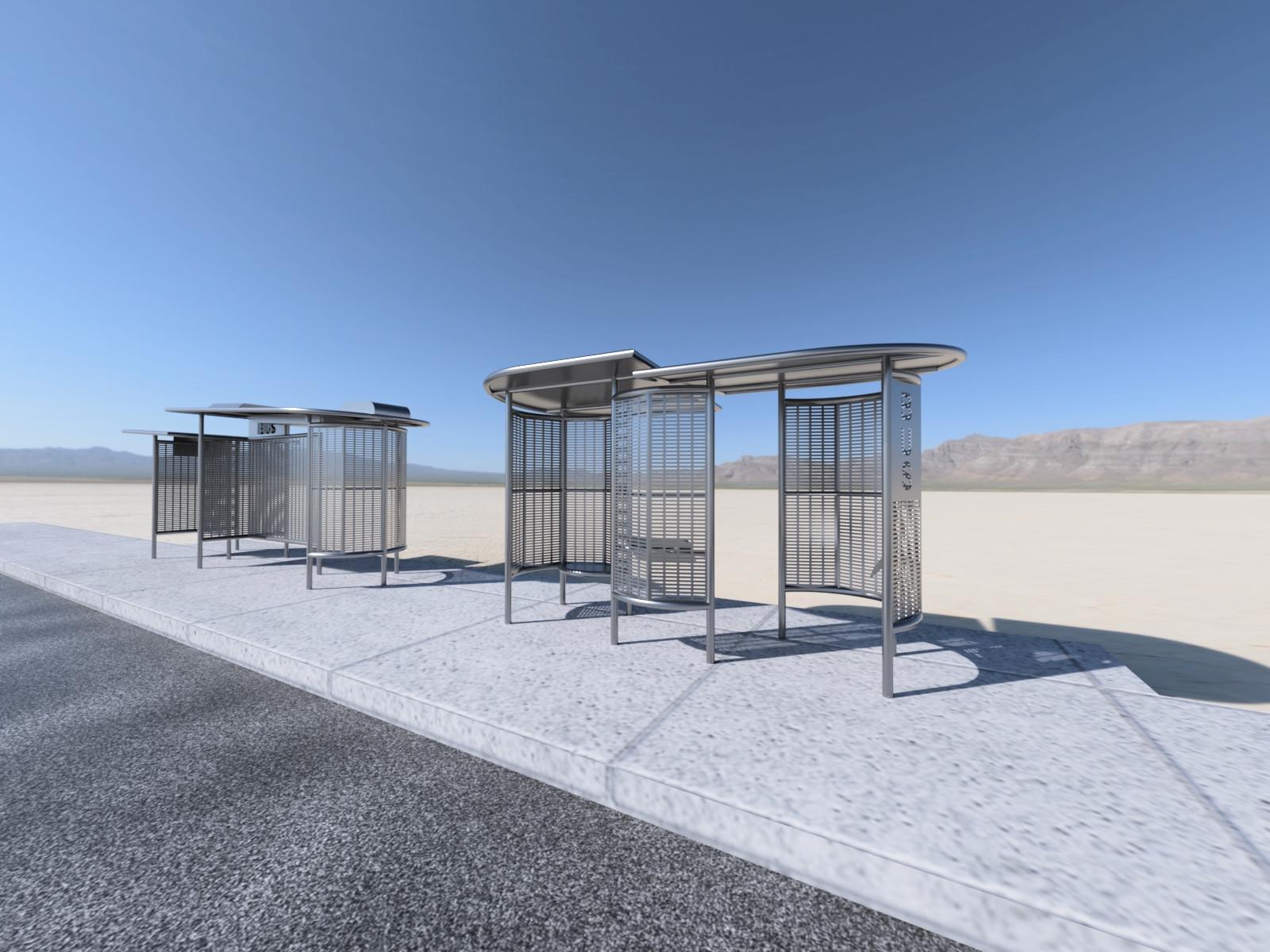 City of Phoenix Bus Stops