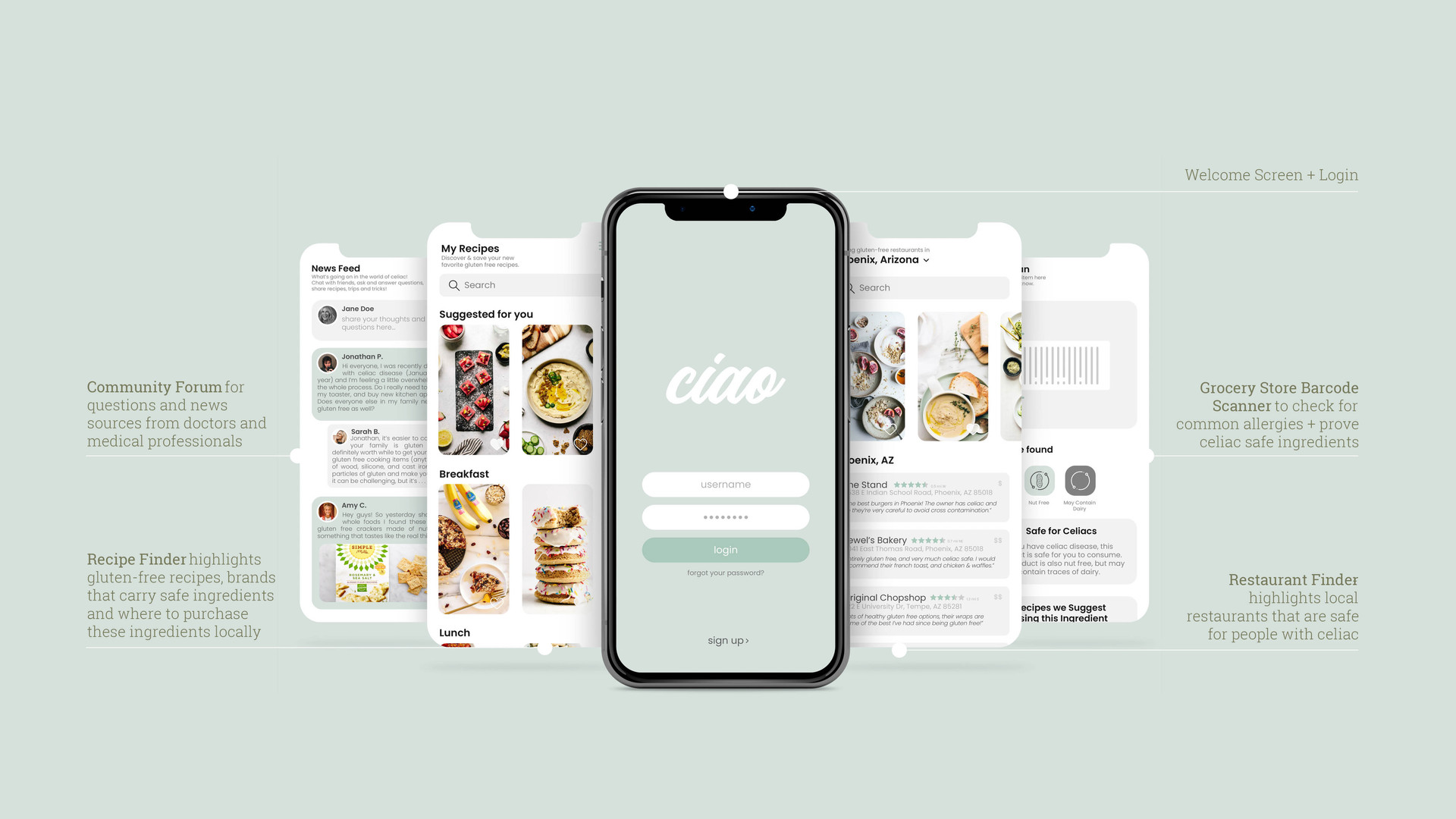 Ciao: Celiac Cooking Kit