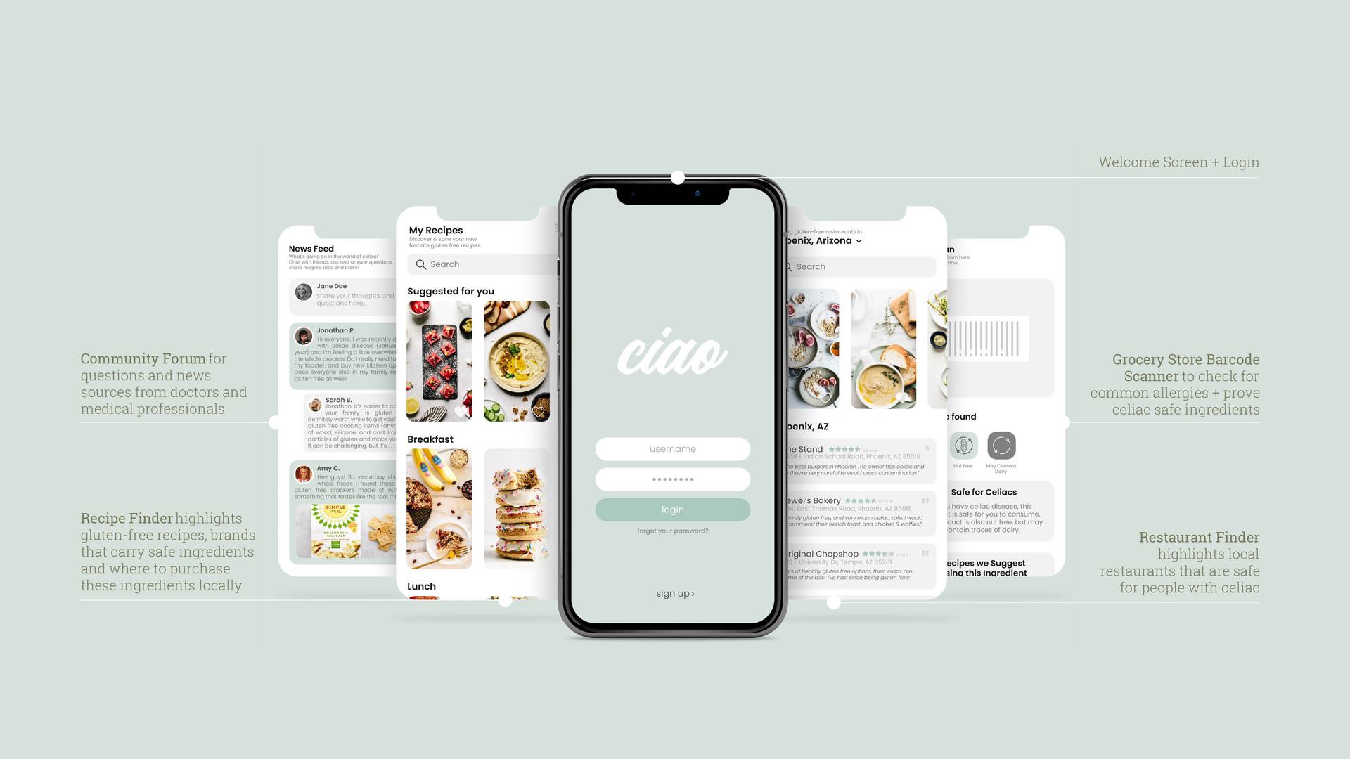 Ciao: Celiac Cooking Kit