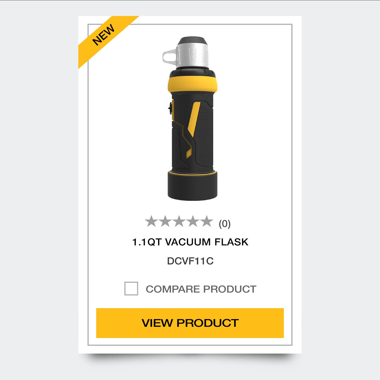 DeWalt Vacuum Flask