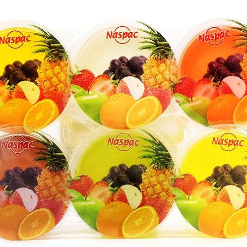 Naspac Jelly with Nata De Coco Cup - Mixed Fruit 6 x 108g