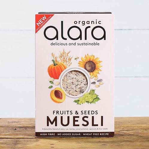Alara Organic Fruits and Seeds Muesli 650g