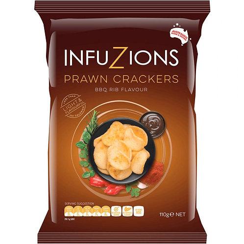 Infuzions Crackers - BBQ Rib (Prawn) 110g