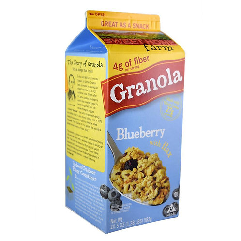 Sweet Home Farm Granola - Blueberry with Flax 582g