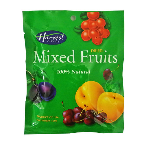 Harvest Fields Dried Fruit - Mixed Fruits 120g