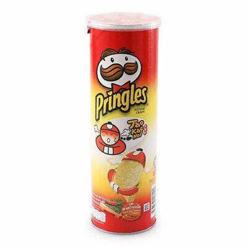 Pringles Tao Kae Noi Potato Crisps - Hot & Spicy Seaweed 107g