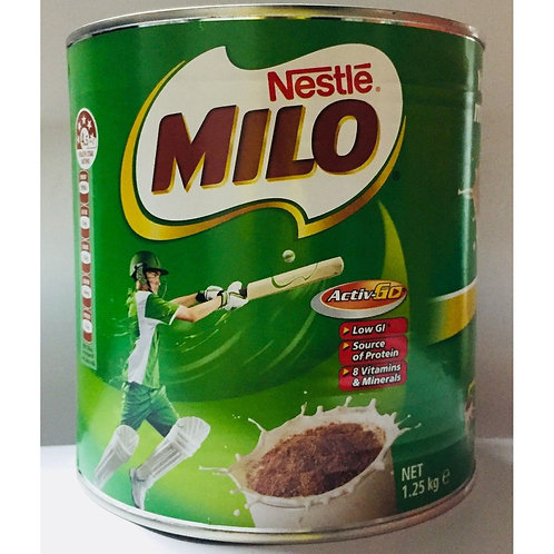 Milo Instant Chocolate Malt Drink Powder - Regular 1.25kg