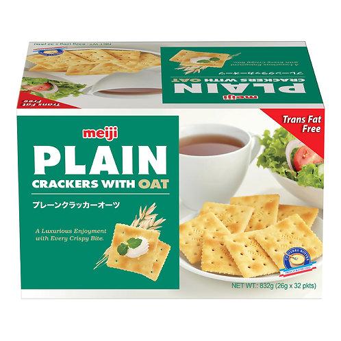 Meiji Plain Crackers-oats