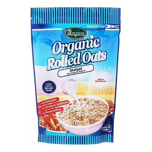 Anzen Organic Rolled Oats - Instant 500g