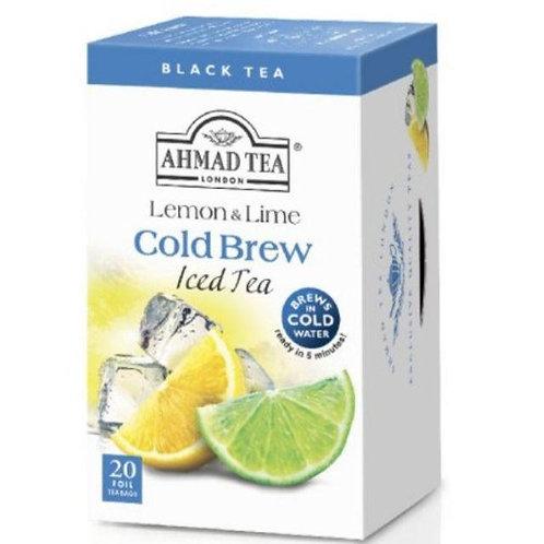 Ahmad TeaBag - Lemon & Lime Cold Brew Iced Tea 40g