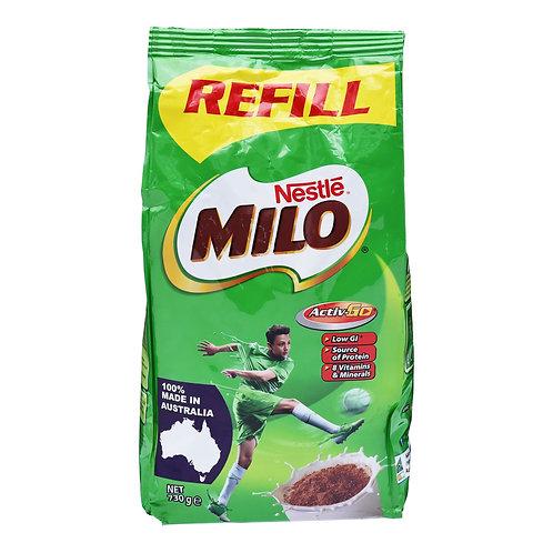 Milo Instant Chocolate Malt Drink PowderRefill - MadeinAustralia 730g