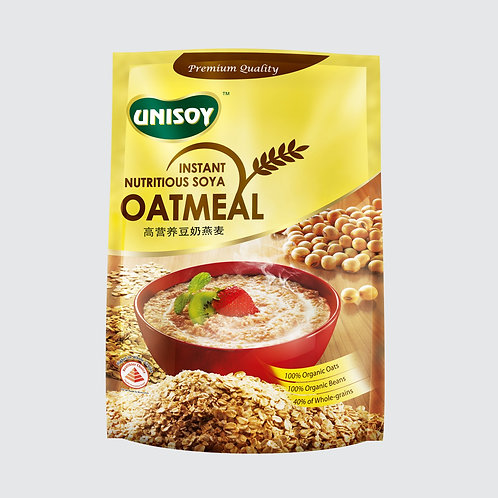 Unisoy Instant Nutritious Soya Oatmeal 12 x 40g