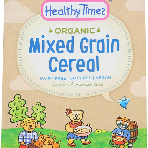 Healthy Times Organic Cereal - Mixed Grain 142g