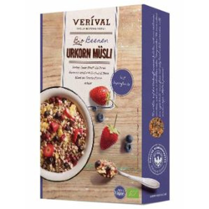 Verival Organic Heritage Grains Muesli with Berries - Foodsterr