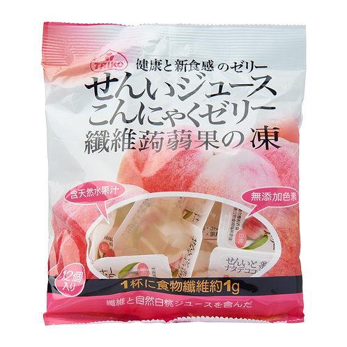 Triko Fibre Konjac Coconut Jelly - White Peach 316g