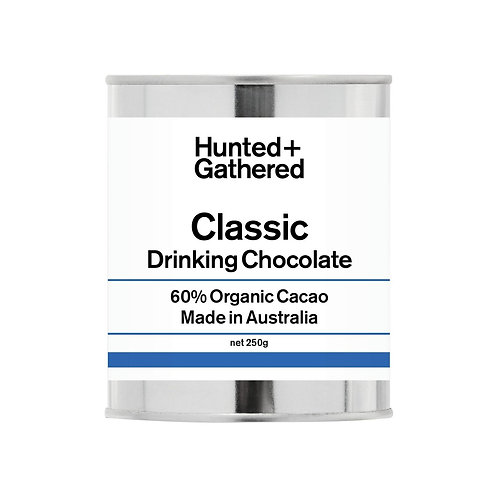 Hunted + Gathered 60% Dominican Drinking Chocolate 250g