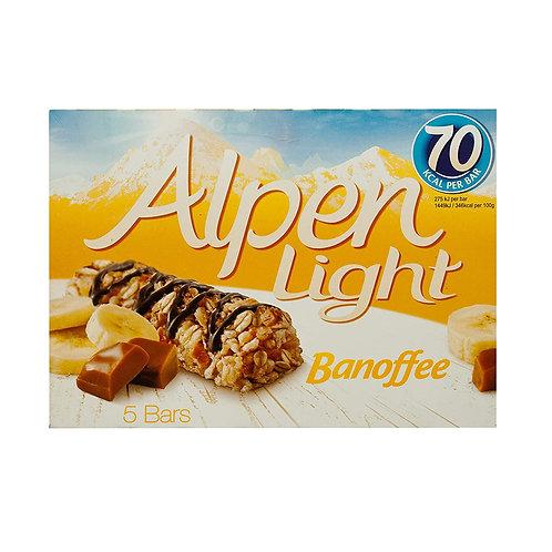 Alpen Light Cereal Bars - Banoffee 5 x 19g
