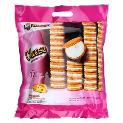 Julie's Sandwich Biscuits - Cheese330g (12 per pack)