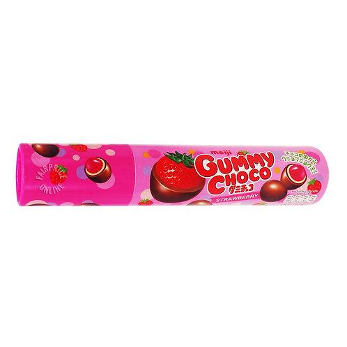 Meiji Gummy Choco - Strawberry 50g