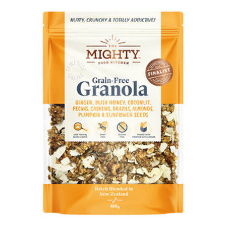 The Mighty Food Kitchen Grain-Free Granola - Ginger