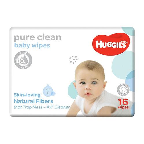 Huggies Pure Clean Baby Wipes