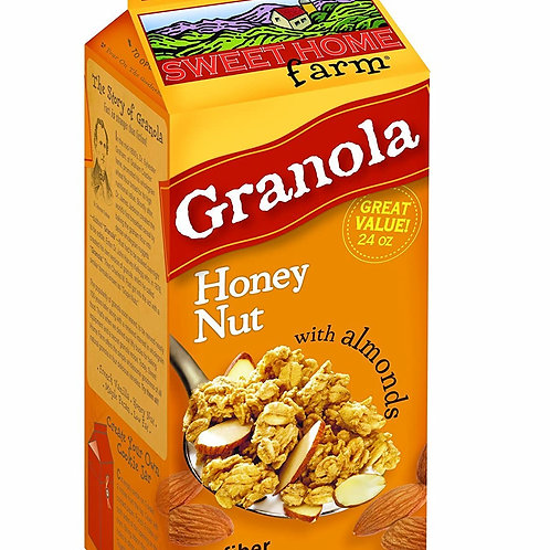 Sweet Home Farm Granola - Honey Nut with Almonds