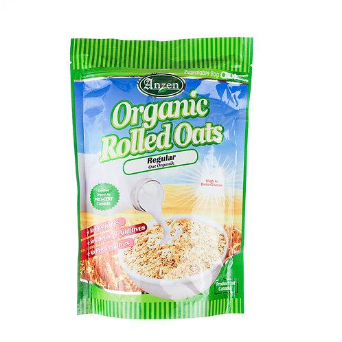 Anzen Organic Rolled Oats - Regular 500g
