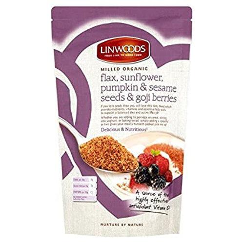 Linwoods Milled Flax,Sunflower,Pumpkin,SesameSeeds & GojiBerries 200g
