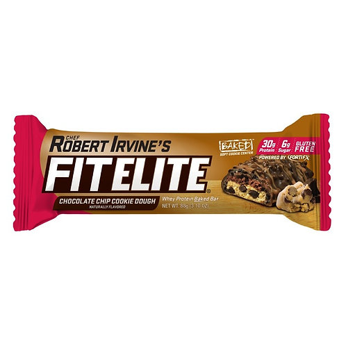 Fitelite Whey Protein Baked Bar - Chocolate Chip Cookie Dough