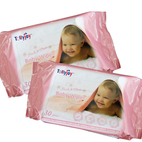 Tollyjoy Baby Wipes - Fresh & Clean