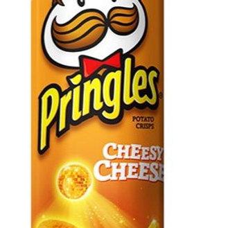 Pringles Potato Crisps - Cheesy Cheese 107g