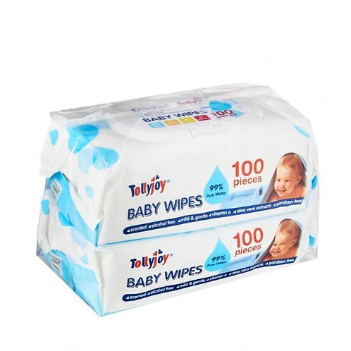 Tollyjoy Baby Wet Wipes - Scented