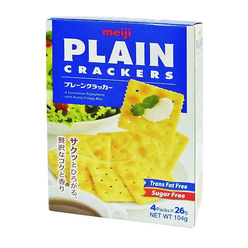 Meiji Plain Crackers - Original4 x 26g