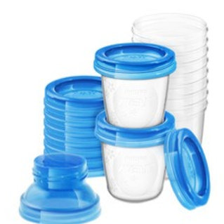 Philips Avent Storage Cups - Breast Milk