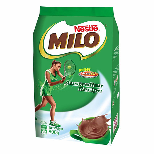 Milo Instant Chocolate Malt Drink Powder Refill - Australian 900g