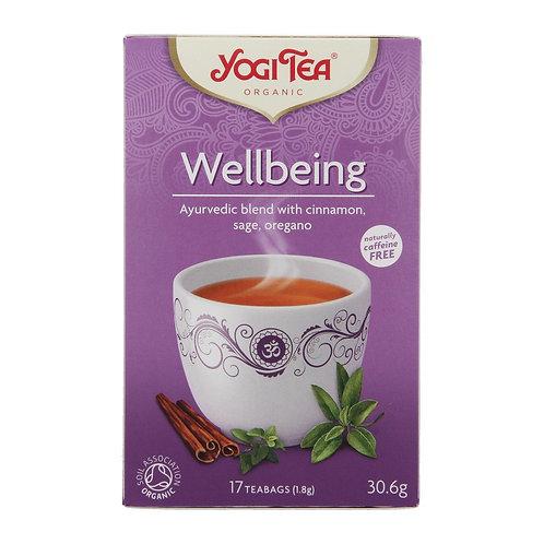 Yogi Organic Wellbeing Tea - 17 Tea Bag 30.6g