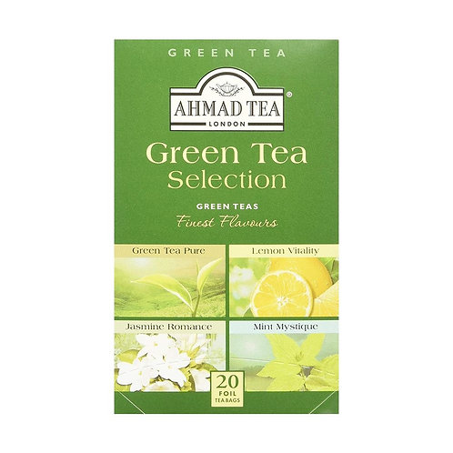 Ahmad TeaBag - Green Tea Selection Assorted 40g