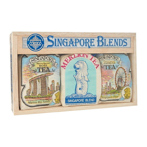 Mlesna Tea Gift Box - Singapore Blends MBS Assorted 150g